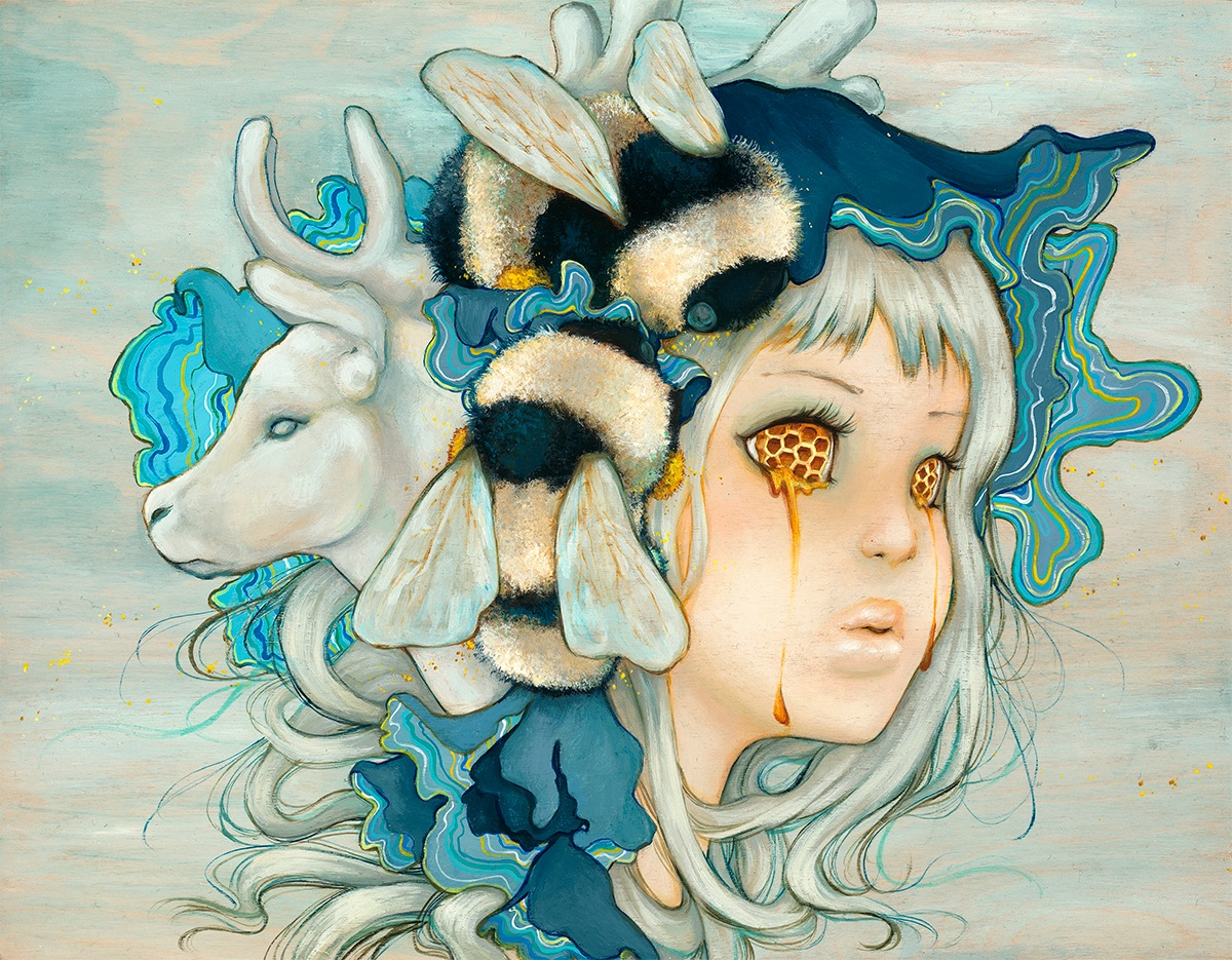 Thinkspace Gallery @ Beyond Eden, October 12—13: Camilla_dEerrico_Beekeeper1200.jpg