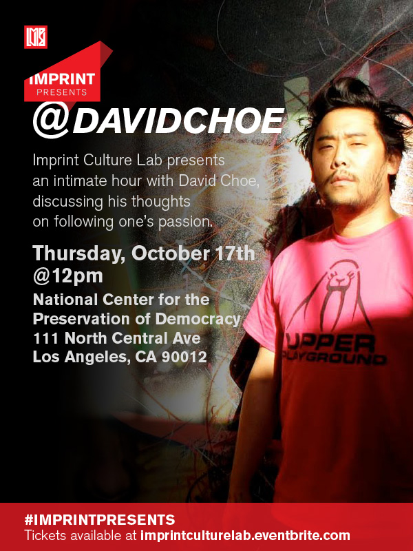 Upcoming David Choe Lecture: October 17th: updated600x800dc.jpg