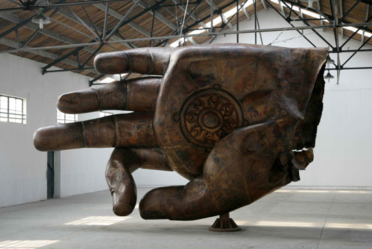 Sculptures by Zhang Huan: Screen shot 2013-10-14 at 7.24.17 PM.png