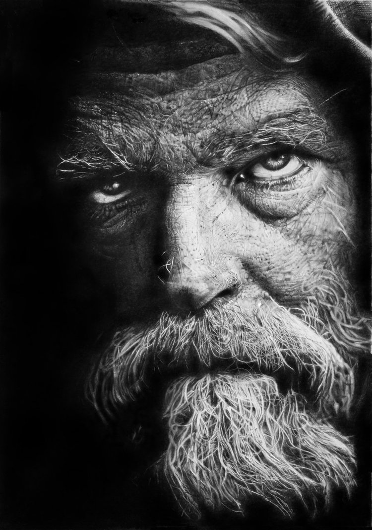 Incredible Photorealism by Franco Clun: homeless_warrior_by_francoclun-d5ccvhx.jpg