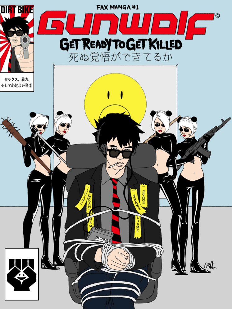 """Gunwolf,"" A Manga Comic Book with a Soundtrack: GW BOOK 1 COVER-1.png"
