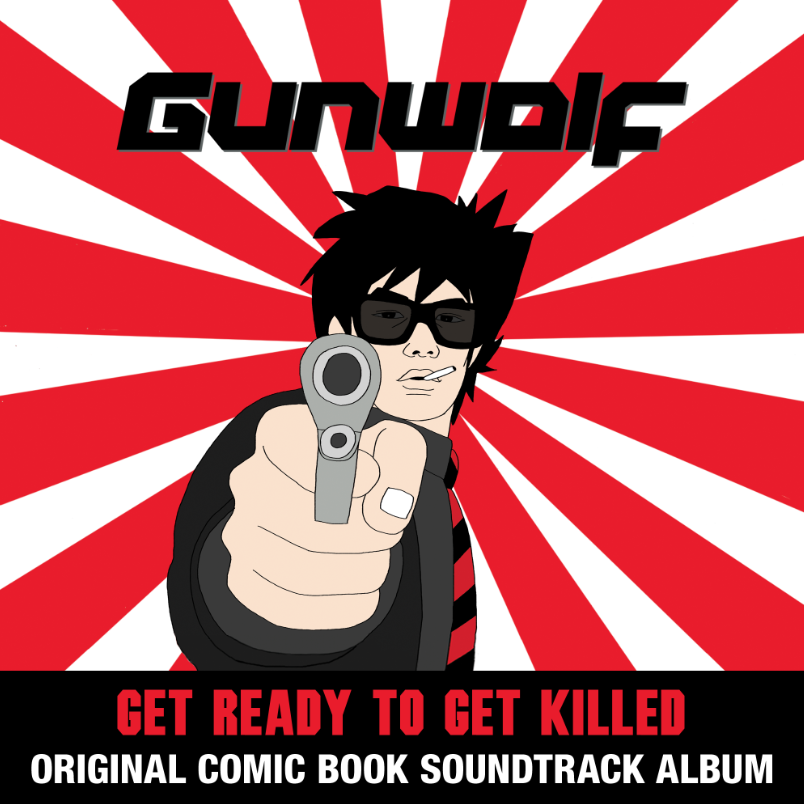 """Gunwolf,"" A Manga Comic Book with a Soundtrack: Gunwolf_albumcover.png"