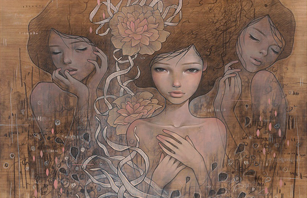 Bedroom Eyes: Work of Audrey Kawasaki: Kawasaki_02.png