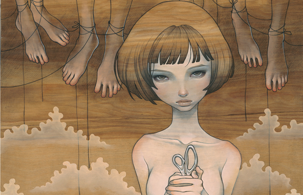 Bedroom Eyes: Work of Audrey Kawasaki: Kawasaki_04.png