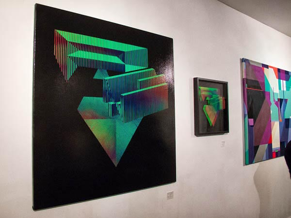 "Photos: ""HEXAHEDRON EXPONENTIËLE"" featuring work from Pantone and Dems @ WeAreVoid : _jux_HEXAHEDRON EXPONENTIËLE11.jpg"