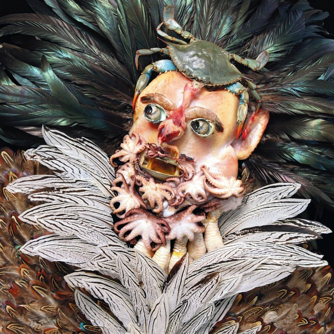 Portraits Made From Food, Plants and other Organics by Klaus Enrique: Klaus_Enrique_Titian-651x651.jpg