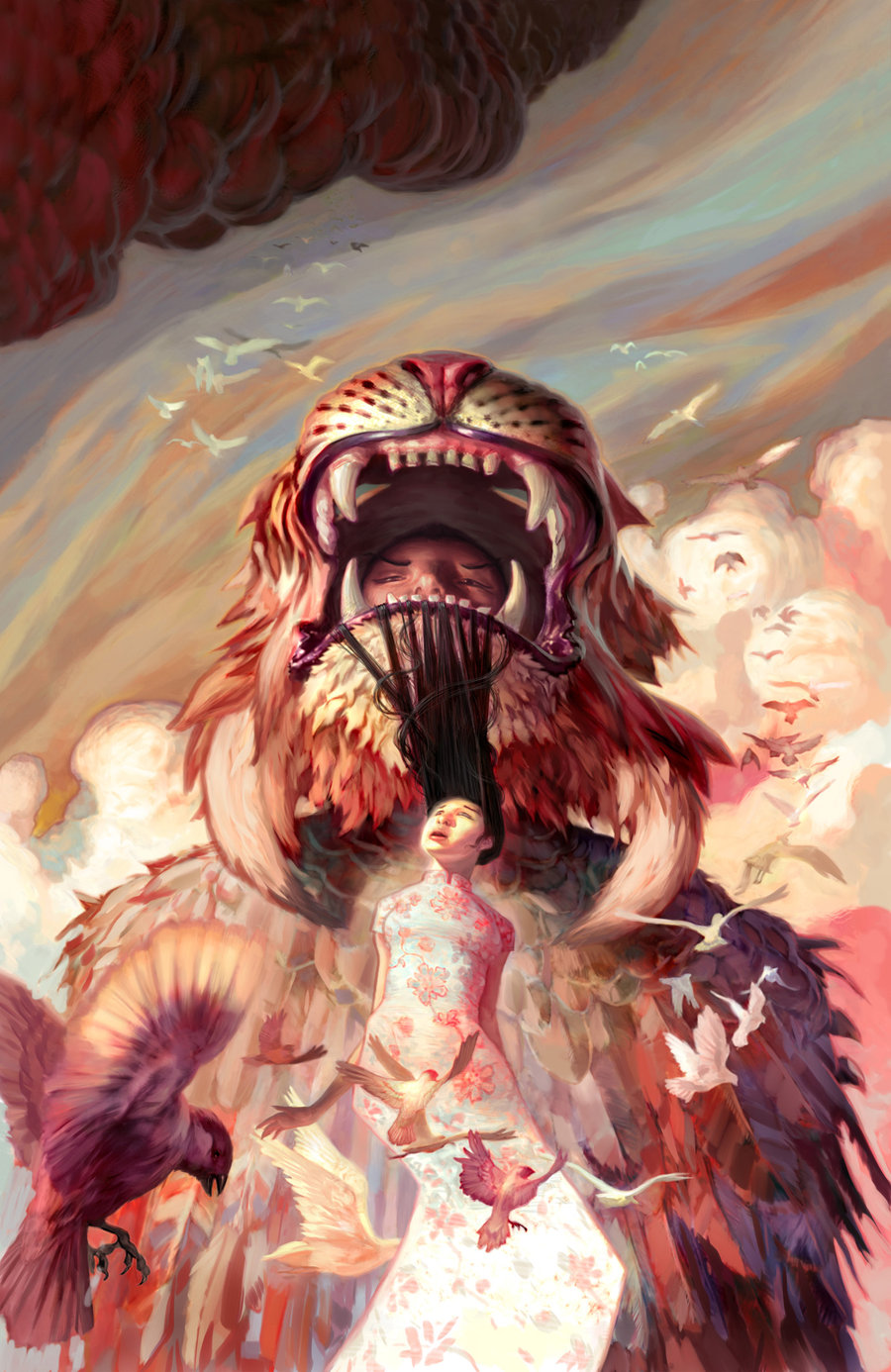Inside the Imagination of Jon Foster: bridge_of_birds_by_jon_foster_tad-d5dw43z.jpg