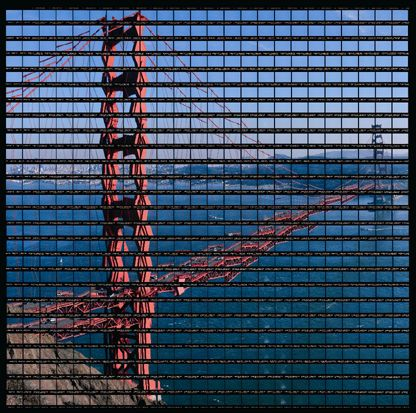 Thomas Kellner's Mosaic-like Photomontages : 42_16_san_francisco_golden_gate_05.jpg