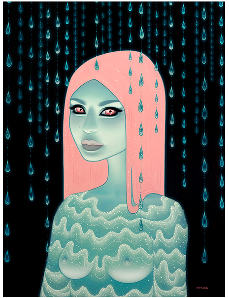 "Tara McPherson ""Wandering Luminations"" @ Jonathan LeVine Gallery, NYC: Screen sho"