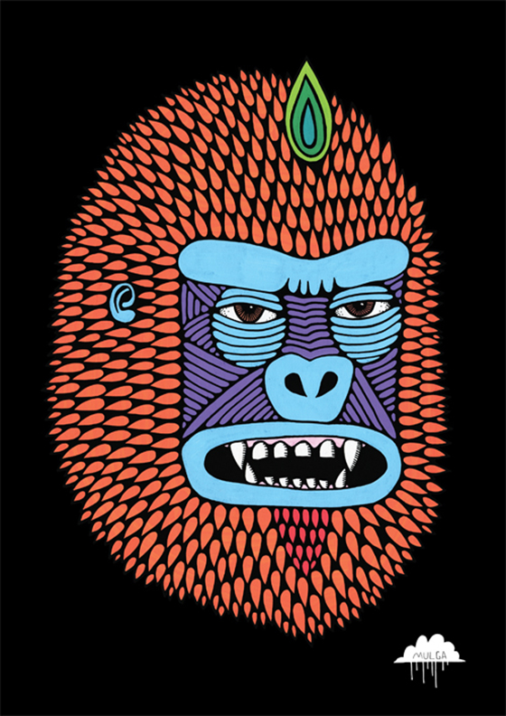 Mulga the Artist: Flame-Head-Fred-by-Mulga-the-Artist-web1.jpg