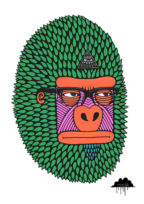 Mulga the Artist: Harley-the-Hipster-by-Mulga-the-Artist-web.jpg
