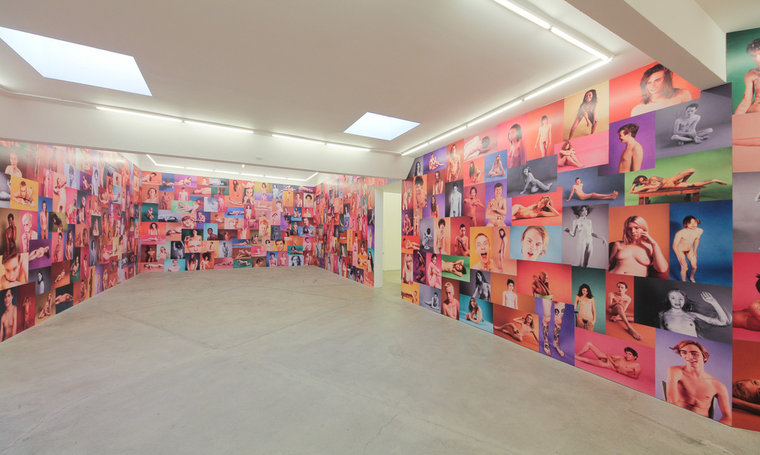 "Ryan McGinley ""Yearbook"" @ Ratio 3, SF: RMcGinley-Installation-YEARBOOK-004-LORES_0.jpg"