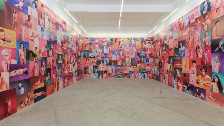 "Ryan McGinley ""Yearbook"" @ Ratio 3, SF: RMcGinley-Installation-YEARBOOK-005-LORES_0.jpg"