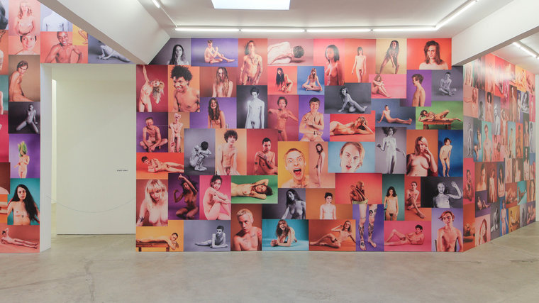 "Ryan McGinley ""Yearbook"" @ Ratio 3, SF: RMcGinley-Installation-YEARBOOK-006-LORES.jpg"