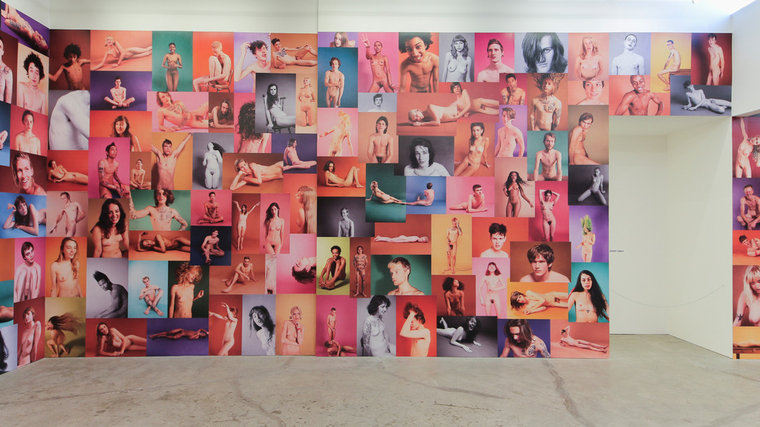 "Ryan McGinley ""Yearbook"" @ Ratio 3, SF: RMcGinley-Installation-YEARBOOK-007-LORES.jpg"