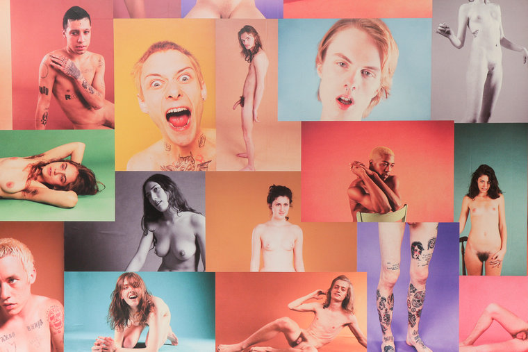 "Ryan McGinley ""Yearbook"" @ Ratio 3, SF: RMcGinley-Installation-YEARBOOK-023-LORES.jpg"