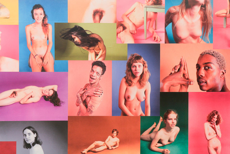"Ryan McGinley ""Yearbook"" @ Ratio 3, SF: RMcGinley-Installation-YEARBOOK-029-LORES.jpg"