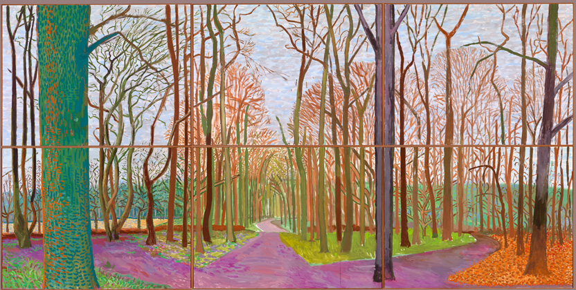 David Hockney: A Bigger Exhibition @ de Young, San Francisco: 06A15.jpg