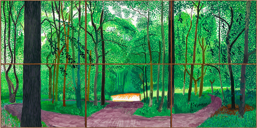 David Hockney: A Bigger Exhibition @ de Young, San Francisco: 06A33.jpg