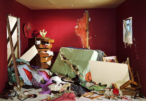 """Damage Control: Art and Destruction Since 1950"" @ Hirshhorn Museum, Washington, D.C: deliveryService-1.jpg"