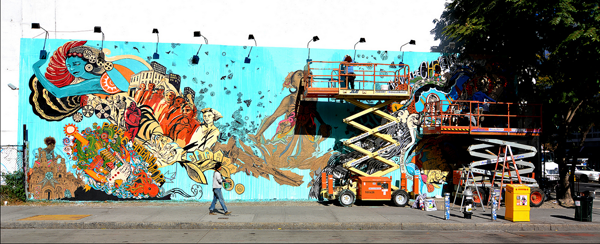 Swoon Process on Bowery Wall, NYC: jux_swoon4.png