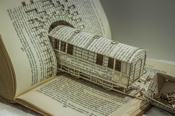 Book Sculptures by Thomas Wightman: 228aa91692a8667aad85e36207200b1a.jpg