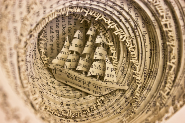 Book Sculptures by Thomas Wightman: 450dd2842d587f8d272b726a142ae931.png