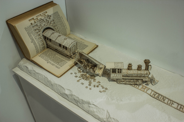 Book Sculptures by Thomas Wightman: 91a0811e548f33c6db4a4351349ce033.jpg