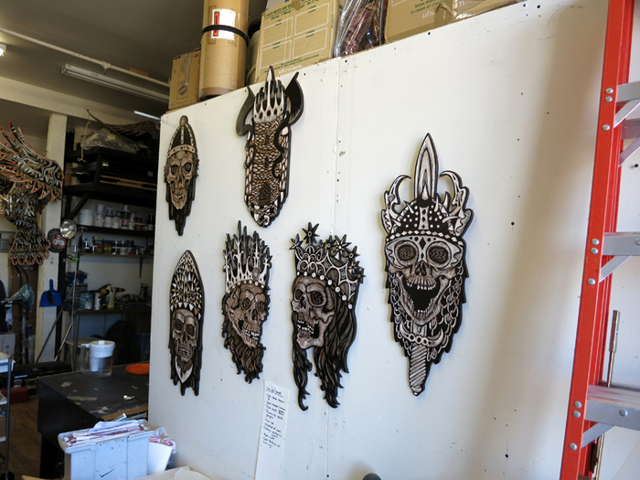 "Preview Teaser: Dennis McNett ""Temple of the Wolfbat"" @ Known Gallery, Los Angeles: mcnett10.jpg"