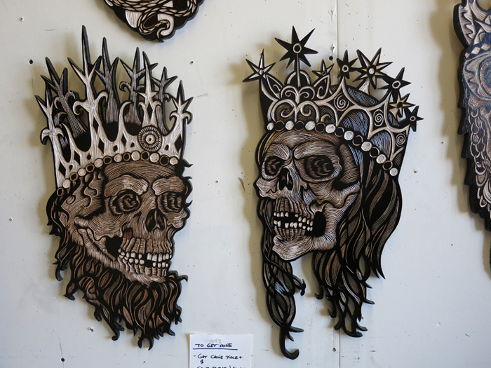 "Preview Teaser: Dennis McNett ""Temple of the Wolfbat"" @ Known Gallery, Los Angeles: mcnett11.jpg"