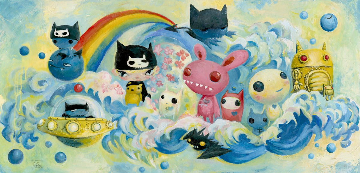 "Mari Inukai ""Jungle Gym Of My Mind"" @ Thinkspace Gallery, Culver City: MARILLABLUE.jpg"
