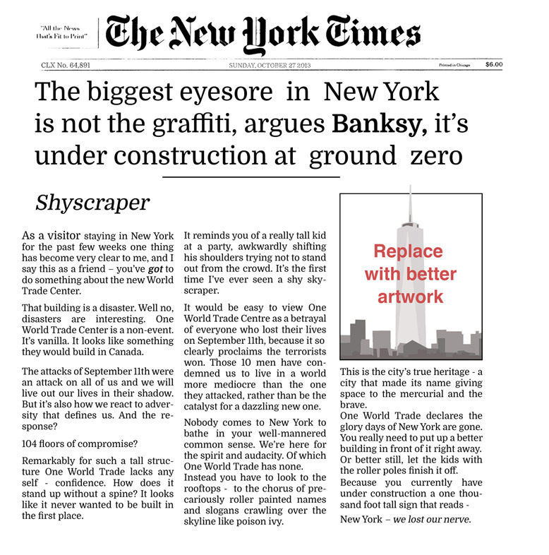 "Banksy ""Better Out Than In"" Day 22-28 Recap: 5-new-york-times-for-web-02.jpg"