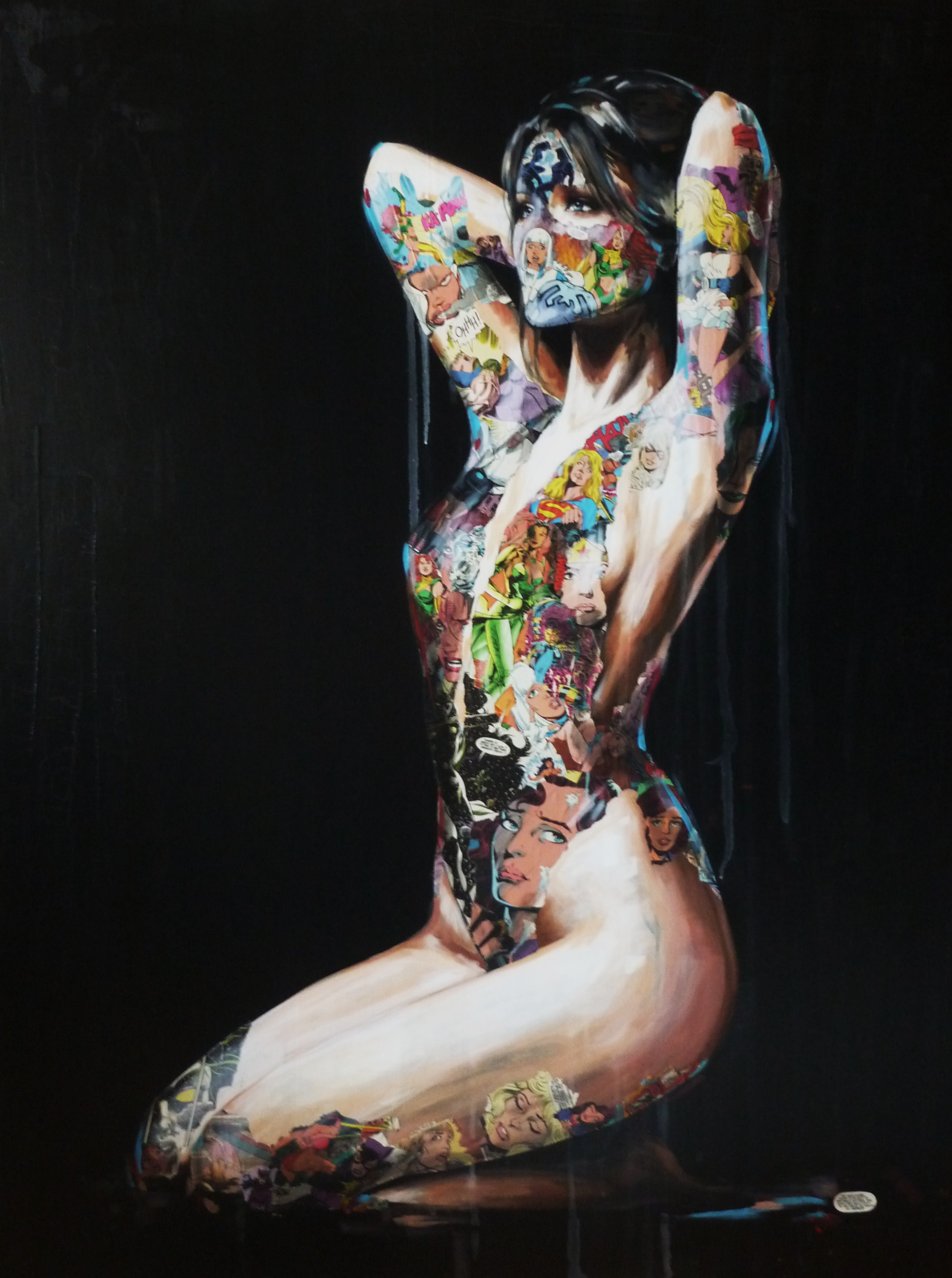 "Sandra Chevrier ""Les Cages; Collections of the Broken"" @ REED Projects, Stavanger: La Cage sans vent, ni soleil. 48X36, 2013..JPG"
