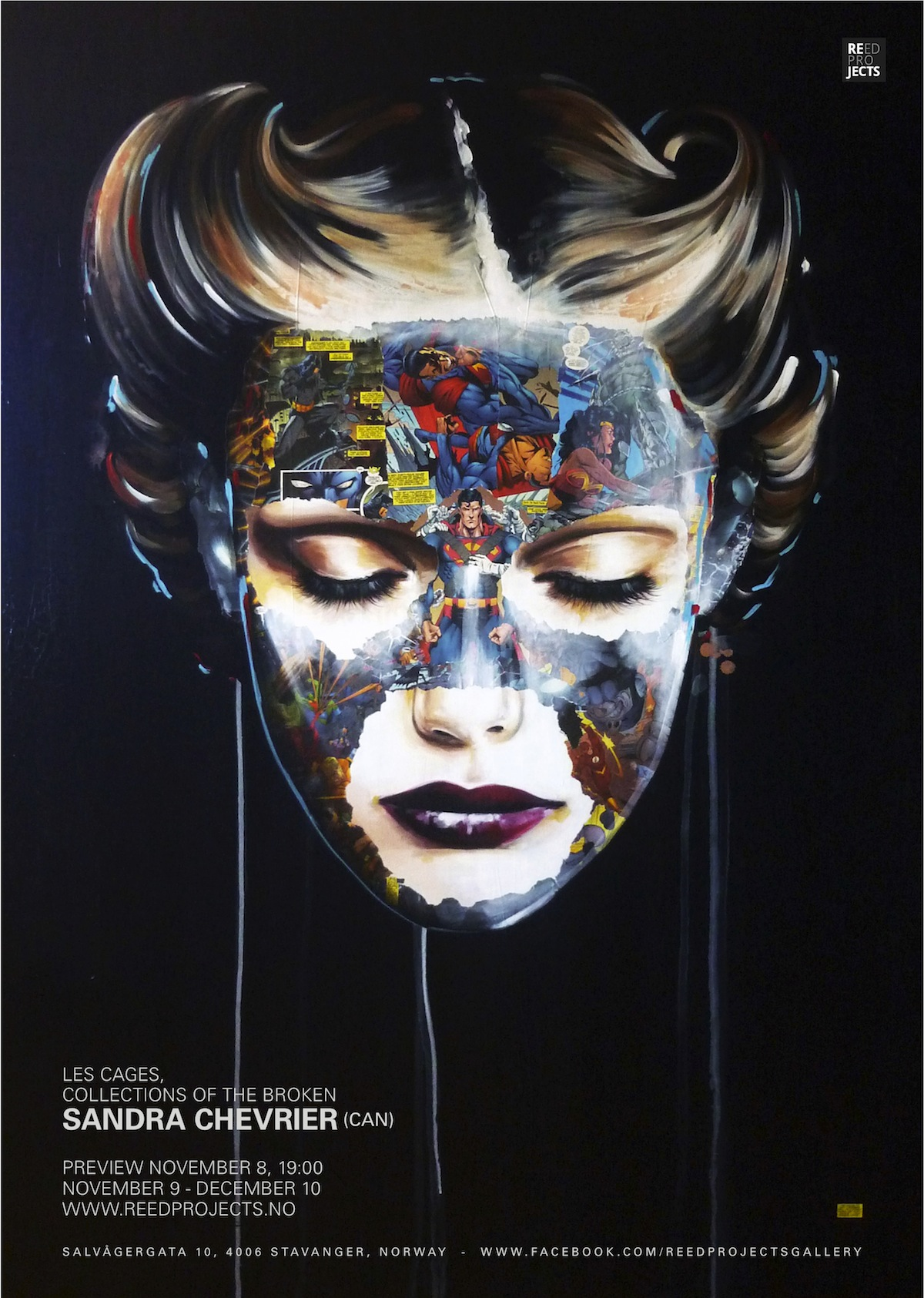 "Sandra Chevrier ""Les Cages; Collections of the Broken"" @ REED Projects, Stavanger: Les_Cages_poste"