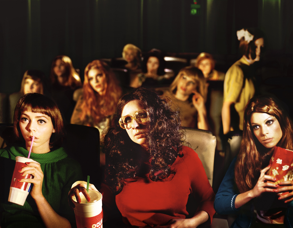 "Alex Prager ""Face in the Crowd"" @ Corcoran Gallery of Art, Washington DC: 15.Rachel-and-friends.jpg"