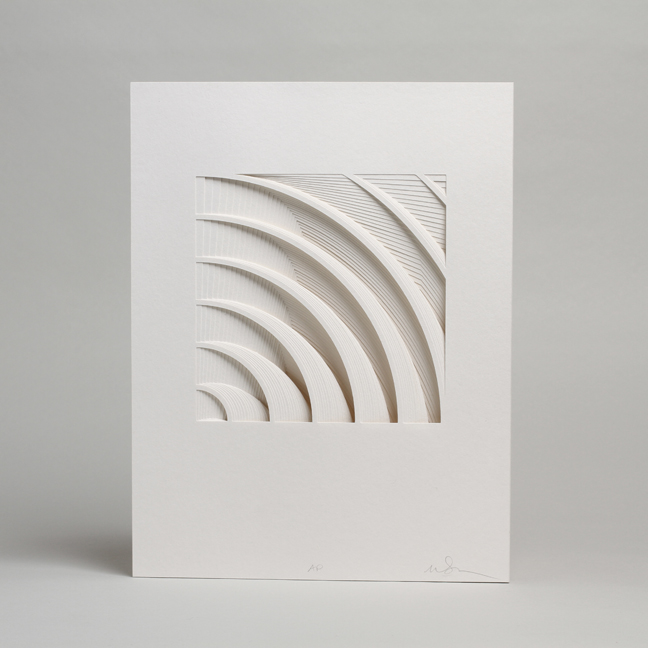 Paper Sculptures by Matt Shlian: 1FLOAT- matthew shlian photo by cullen stephenson1.jpg