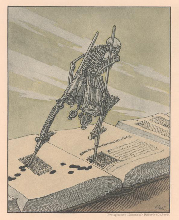A Modern Dance of Death: A portfolio of prints by Joseph Sattler: 02-joseph-sattler-modern-dance-of-death-1894.jpg