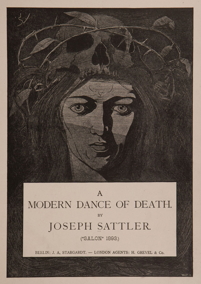 A Modern Dance of Death: A portfolio of prints by Joseph Sattler: 18-joseph