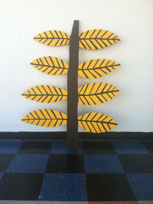 Wood-Cutout Paintings by Nathaniel Russell: plant4.jpg
