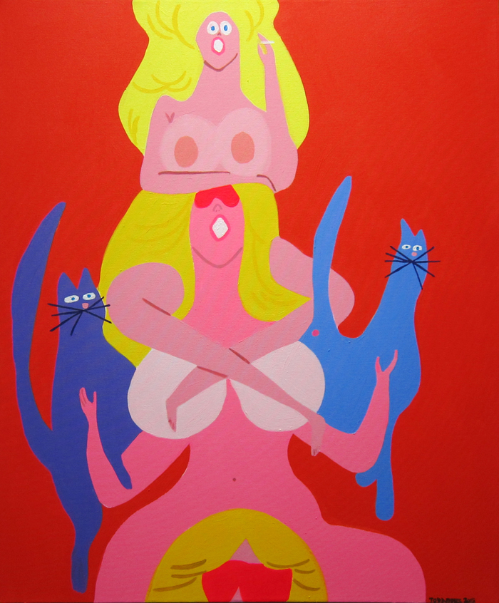 "Preview: Todd James ""Splash Damage"" @ Cooper Cole, Toronto: CC_Todd_James_WhosBetterThanUs.jpg"