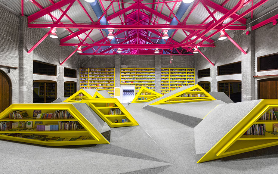 A Library and Playground in Monterrey, Mexico: E1.jpg