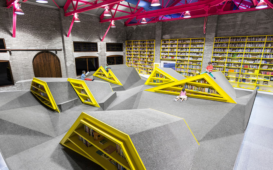 A Library and Playground in Monterrey, Mexico: G-A.jpg
