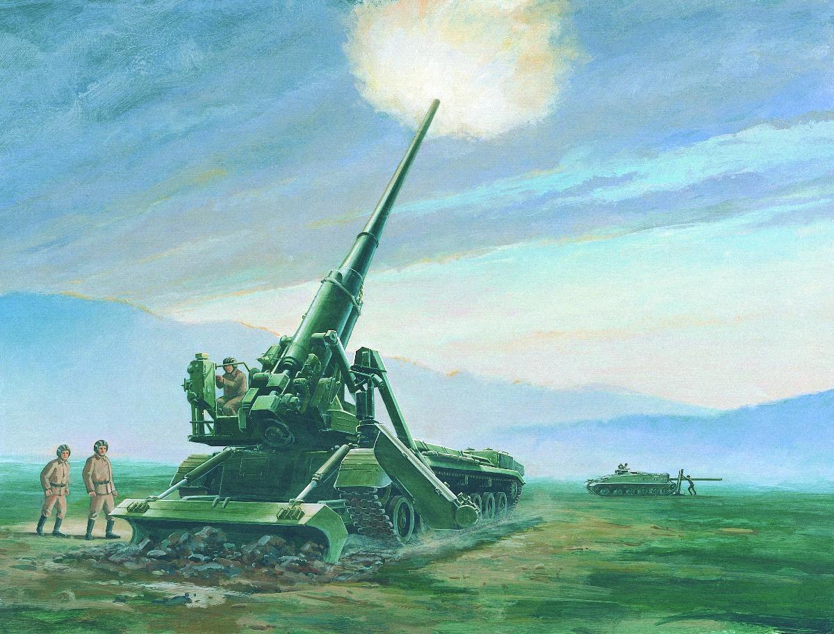 DIA-Commissioned Artist's Renderings of Soviet Weaponry: 96_926.jpg