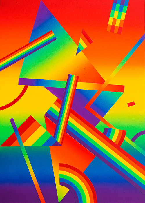 "Preview: Clark Goolsby ""Shatter"" @ Circuit 12, Dallas: Raibow_Piece_II.jpg"