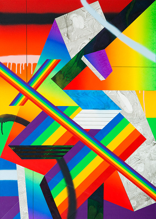 "Preview: Clark Goolsby ""Shatter"" @ Circuit 12, Dallas: Raibow_Piece_III.jpg"