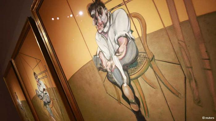"Francis Bacon's ""Three Studies of Lucian Freud"" goes for a minor 2.4m at Christie's : 0,,17222001_303,00.jpg"