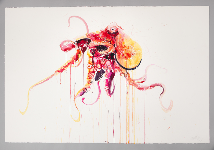 "Dave White ""Aquatic"" @ Lawrence Alkin Gallery, London: Octopus I.jpg"