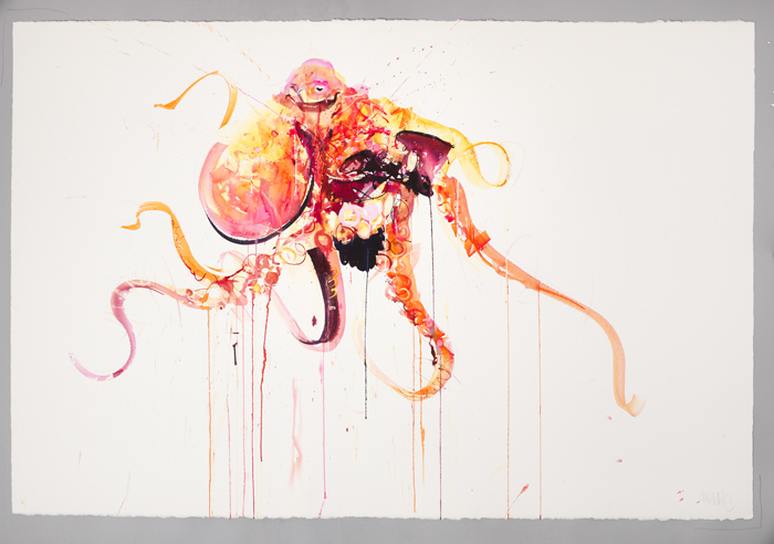 "Dave White ""Aquatic"" @ Lawrence Alkin Gallery, London: Octopus II.jpg"