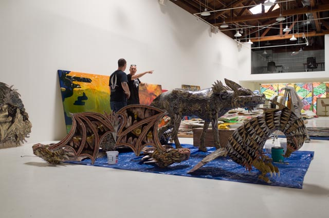 "DENNIS MCNETT ""TEMPLE OF THE WOLFBAT"" @ KNOWN GALLERY, LOS ANGELES: R0002186.jpg"