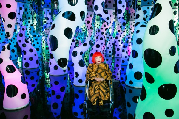 "Yayoi Kusama ""I Who Have Arrived In Heaven"" @ David Zwirner, NY: WMR_0922-600x400.jpg"